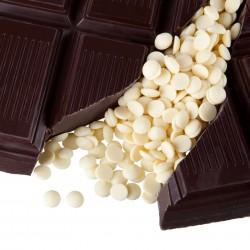 Chocolat blanc pour pâtisserie