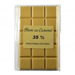 Chocolat blond (blanc caramélisé)