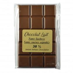 Chocolat sans lactose